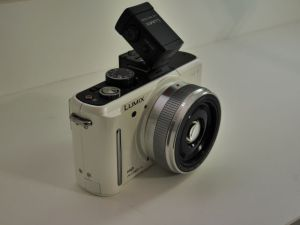 GF1 with 20mm II and LVF1