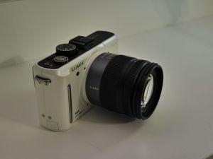 White GF1 +14-45mm